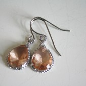 Champage Glass Earrings