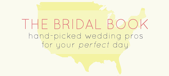 local wedding vendors in the bridal book