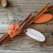 Rustic thank you gift