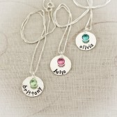 Bridesmaid Name Necklace