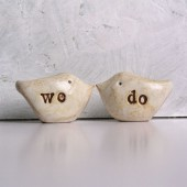 "Wedding cake topper ...""we do"""
