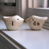 "Wedding cake topper ...""i do"""