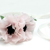 Blush Flower Wedding Fascinator