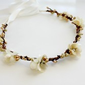 Gold and Ivory Halo