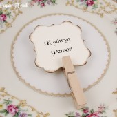 Ivory Personalized Place Cards