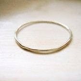 Dainty White Gold Ring