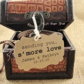 S'more Love Wedding Favor Tags