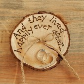 RUSTIC ring bearer pillow Romantic country Wedding decoration