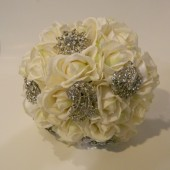 Real Touch Jeweled Bouquet