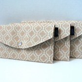 Natural Tile Clutch set