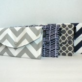 Navy and Grey Modern Geo Collection