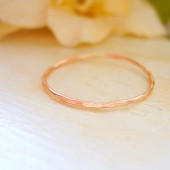 Dainty Rose Gold Ring