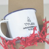 Groomsmen's Custom Enamel Mugs