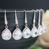 Bridal Bridesmaid Earrings