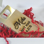Groomsmen's Custom Engraved Bottle Openers