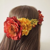 Fall Bridal flower crown,