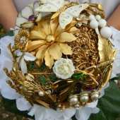 Luxury Brooch Bouquet