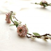 Pink Mauve Floral Crown