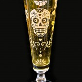 Day of the Dead Fluted Pilsner