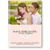 Hailey – Modern Rustic Save The Date