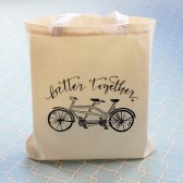 Tandem Bike Better Together Wedding Welcome Bag