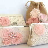 Bridal Clutch Vintage Wedding