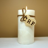 memorial candle, memorial, in memory, funeral candle, wedding candle, unity candle, personalized, initials