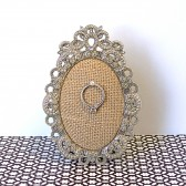 Burlap Ring Holder
