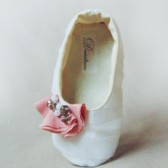 tulle baby shoes