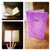 Custom Suede Vow Books