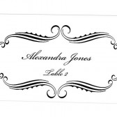 Place Card Template - Alexandra Design