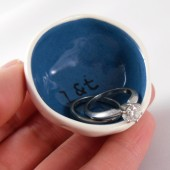 something blue ring dish