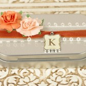 Custom Jewelry Box - Bridesmaid Gift, Ring Bearer Box