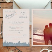 Custom Love Story Save the Date