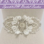 Georgette Bridal Sash