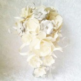 Cascading Paper Flower Bouquet