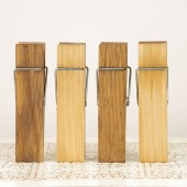 Wood Clothespins - Table Number Holder