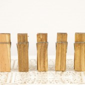 Small Wood Clothespins - Place Card Holder