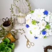 Shabby Chic Paper Bouquet