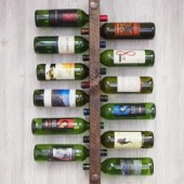 12 Bottle High Capacity Wine Rack