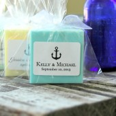 Anchor Soap Wedding Favors