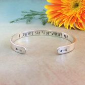 sterling silver, silver, personalized, customized, custom, cuff, bohemian, boho, gold, rose gold