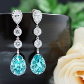 Swarovski Crystal Bridal Earrings