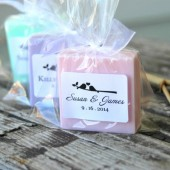 Love Bird Soap Wedding Favors