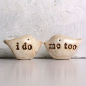 "Wedding cake topper ...""i do, me too"""