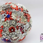 Rockabilly Brooch Bouquet.