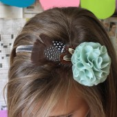 Miss Penelope Feather Headband