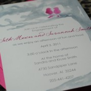 Kissin\' Birds Invitation