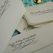 Black and White Crane Stationery
