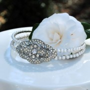 Art Deco Rhinestone Headband